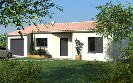 maison vendre yversay 77m terrain 594 m delrieu construction. Black Bedroom Furniture Sets. Home Design Ideas