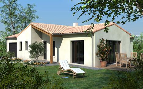Maison vendre ligug 117 m terrain 662 m delrieu construction - Maison en bois montana cutler ...