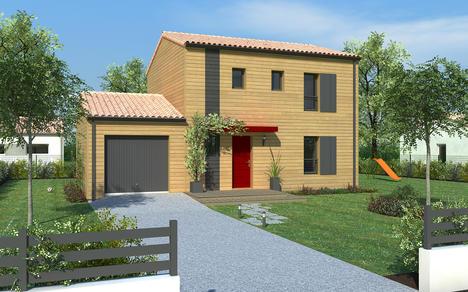 Vente maison la benate 96m terrain 3800m delrieu for Prix construction maison 3 chambres