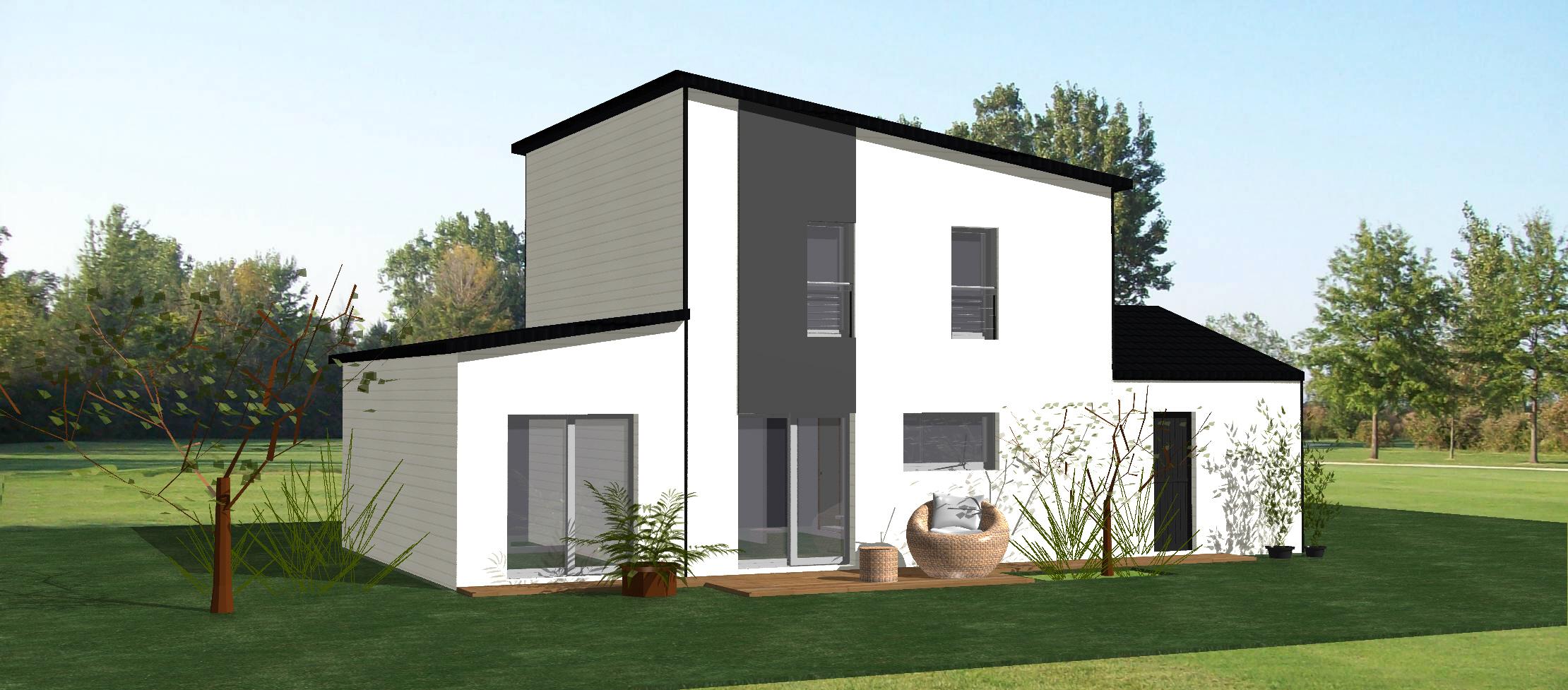 Vente maison chatelaillon 116m terrain 442m delrieu for Construction terrain