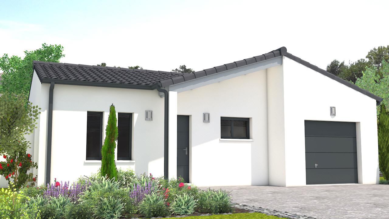 maison vendre surg res 94 m terrain 330 m delrieu construction. Black Bedroom Furniture Sets. Home Design Ideas