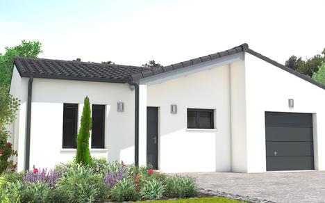 Vente maison chatelaillon 94m terrain 460m delrieu for Prix maison cle en main sans terrain