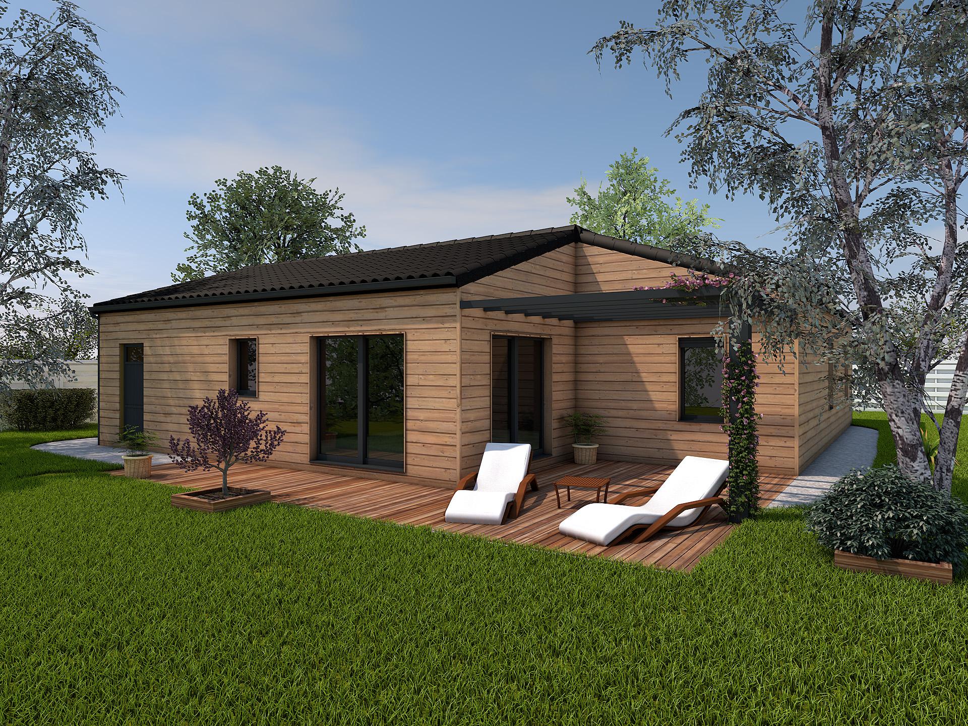 maison savigny l vescault 97m terrain 555m delrieu construction. Black Bedroom Furniture Sets. Home Design Ideas
