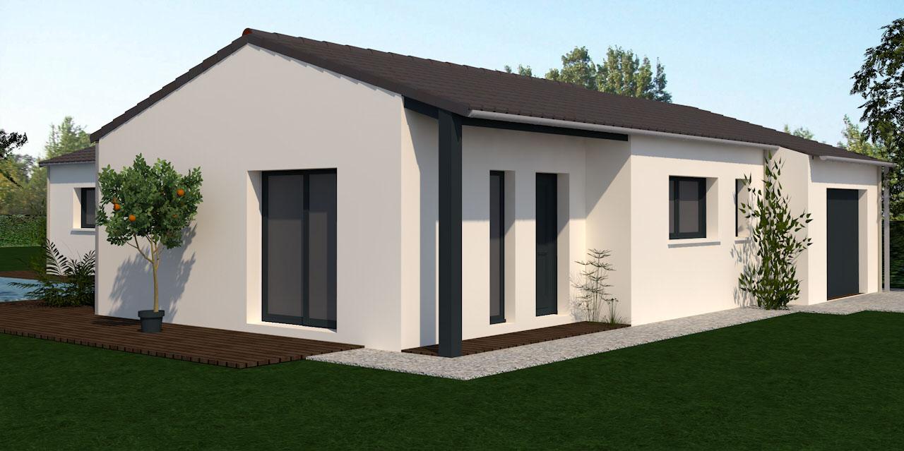 vente maison villiers 120 m terrain 700 m delrieu construction. Black Bedroom Furniture Sets. Home Design Ideas