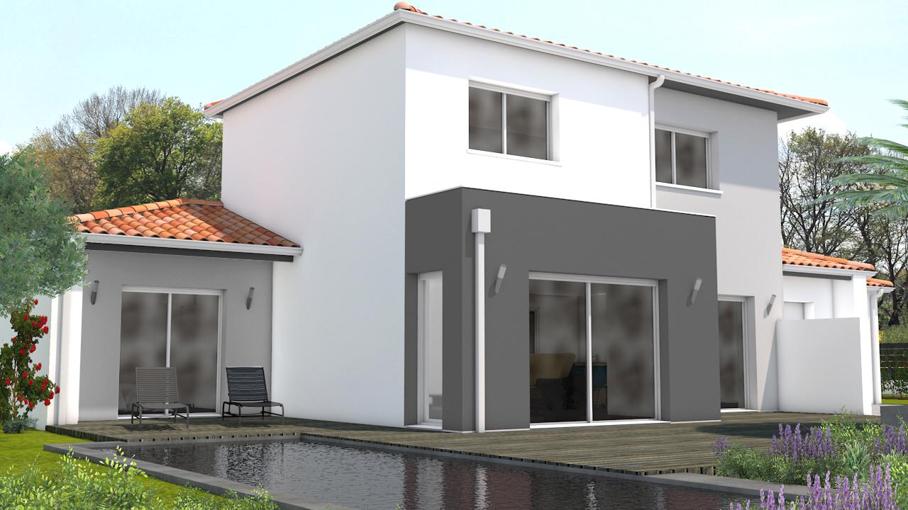 maison vendre muron 143 m terrain 642 m delrieu construction. Black Bedroom Furniture Sets. Home Design Ideas