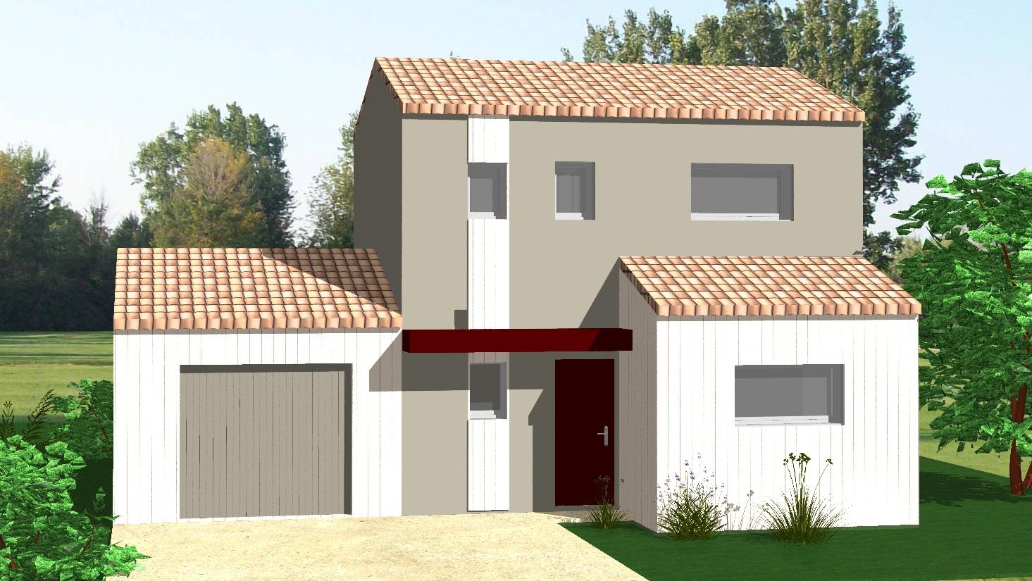 maison vendre la jarne 73 m terrain 307 m delrieu construction. Black Bedroom Furniture Sets. Home Design Ideas