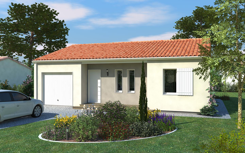 Maison vendre de 69 m sur un terrain de 686 m for Construction bois 86