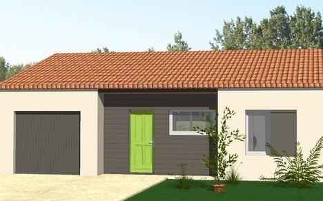 Maison vendre chauray 69 m terrain 265 m delrieu construction - Maison en bois montana cutler ...