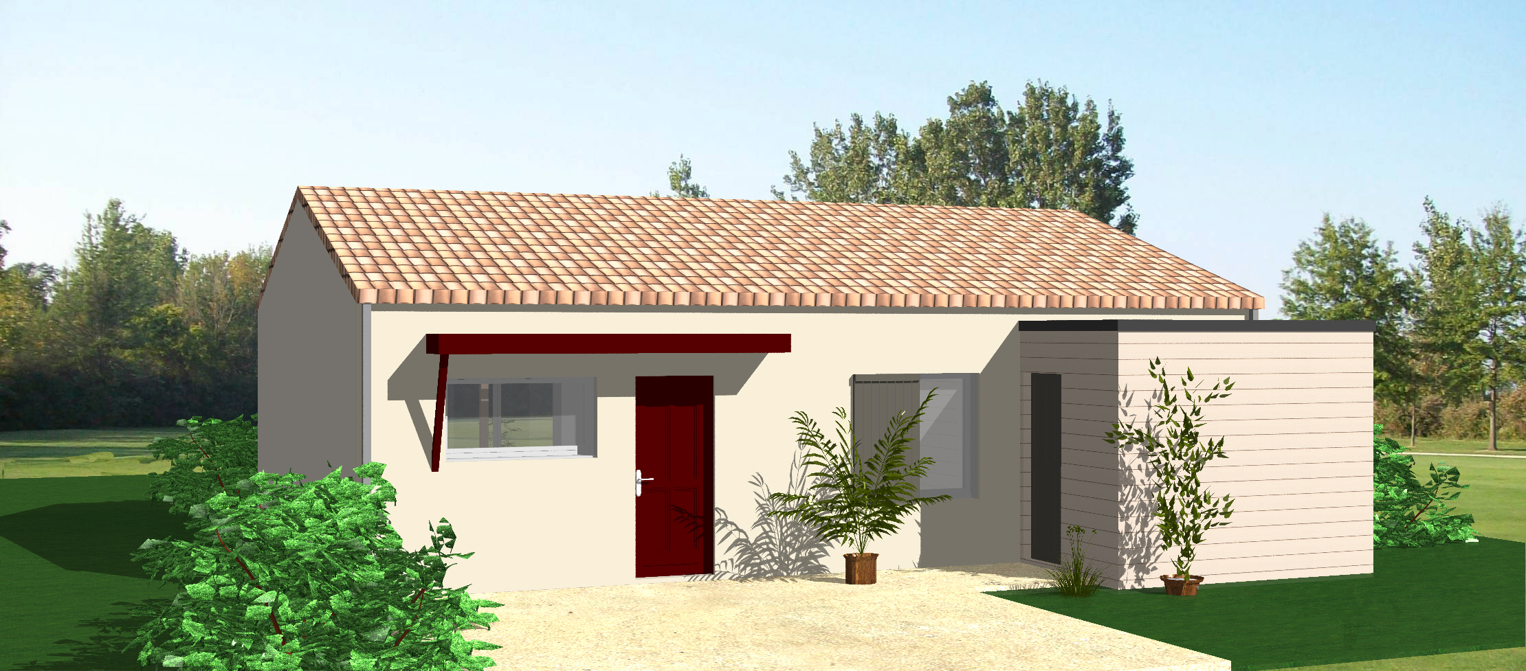vente maison sciecq 77m terrain 511m delrieu construction. Black Bedroom Furniture Sets. Home Design Ideas
