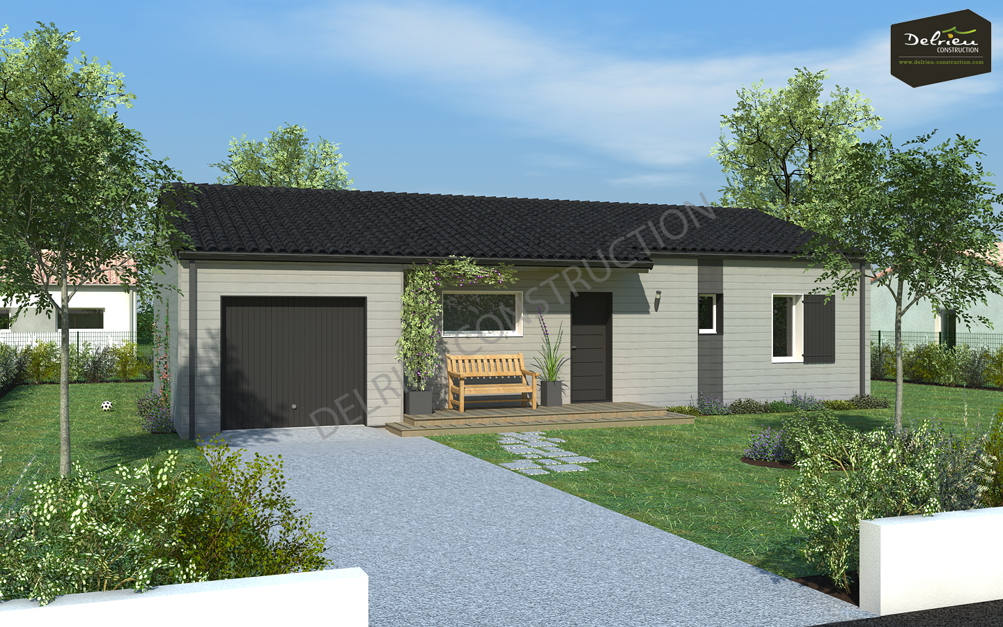 maison vendre de 64 m sur un terrain de 566 m ciss delrieu construction. Black Bedroom Furniture Sets. Home Design Ideas