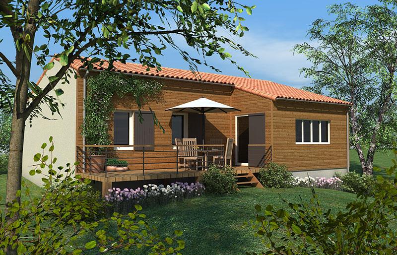 maison en bois montamis vienne 86 nos r alisations delrieu
