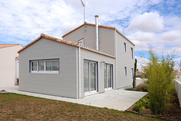Maison ossature boisà Périgny, Charente Maritime (17) Delrieu # Maison Bois Charente Maritime