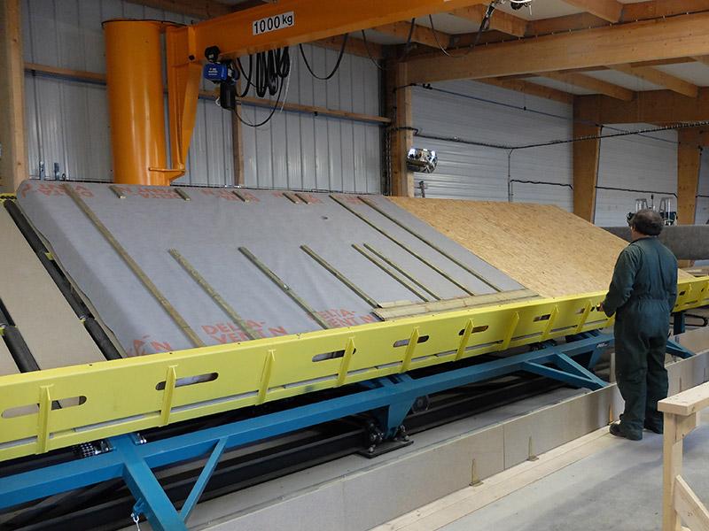 Atelier bois construction idx47 slabtownrib for Fabrication ossature bois maison