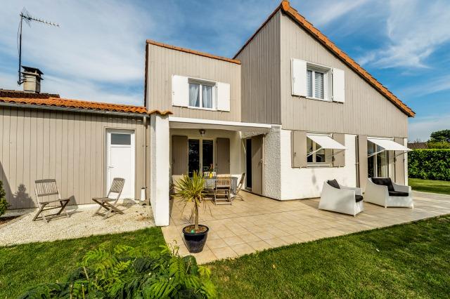 Extension maison en bois niort 79 nos r alisations for Extension maison 79
