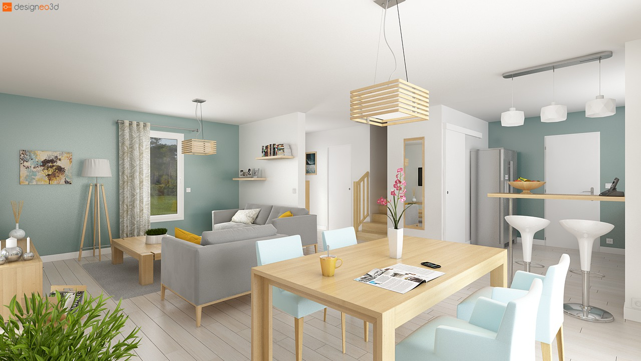 vente maison croutelle 73 m terrain 466 m delrieu construction. Black Bedroom Furniture Sets. Home Design Ideas