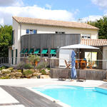 Villa contemporaine, Delrieu construction mixte bois 2002